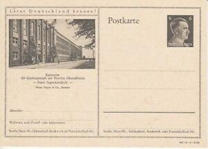 German-Reich-Stationery-P-305-Katowice-Silesia-Ingenieurschule