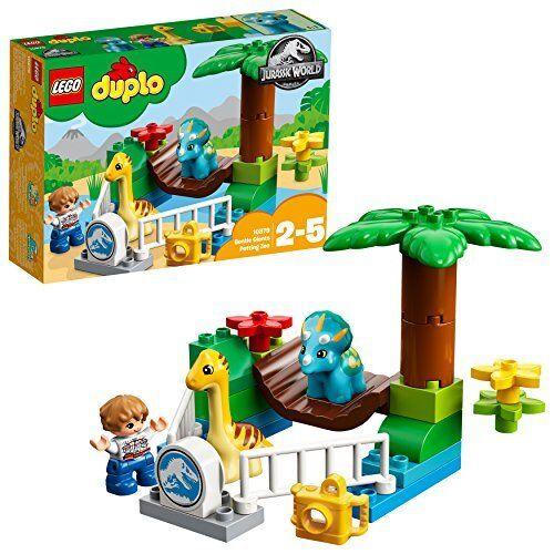 10879 LEGO Duplo  Jurassic World Dino-Streichelzoo Spielzeug für Kleinki