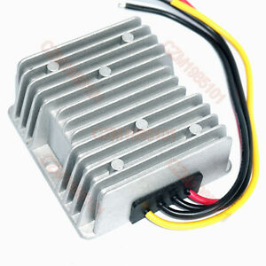 STEP UP 12V//24V to 48V 2A 96W Power Converter Regulator DC WaterProof DC//DC