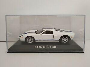 1-43-FORD-GT40-GT-40-STREET-COCHE-METAL-IXO-ALTAYA-ESCALA-SCALE-DIECAST