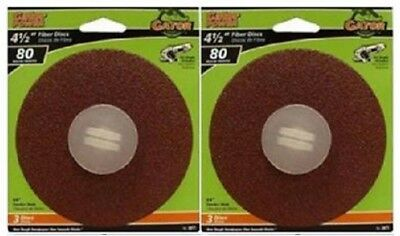 GATOR Grit Disc 3071 3-Pack 4-1//2-Inch x 7//8-Inch