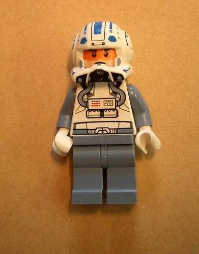 Lego Star Wars Captain Jag Figur Pilot Minifigs mit offenem Helm Figuren Neu