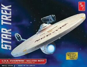 AMT-1-537-Star-Trek-USS-Enterprise-Refit-Plastic-Model-Kit-AMT1080