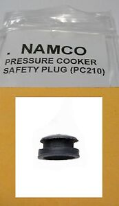Namco-Pressure-Cooker-SAFETY-RELEASE-PLUG-PC210-all-rubber-extra-safe-NEW