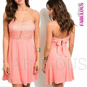 New-Sexy-Crochet-Floral-Lace-Dress-Size-6-12-Hot-Sleeveless-Party-Summer-Wear