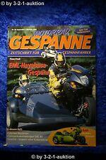 Motorrad Gespanne Nr.59 5/00 Hayabusa Harley VL Gespann