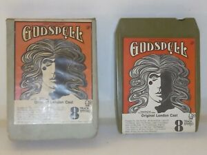 Vintage 8 Track Cassette Cartridge Eight godspell original London cast