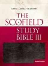 SCOFIELD STUDY BIBLE [9780195278521] -  (HARDCOVER) NEW