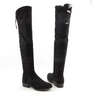 fb3ce7a760e Sam Edelman Paloma Women s Over the Knee Black Suede Boots Size 6 M ...