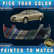 NEW Painted To Match- Front Bumper Cover Replacement for 2002-2004 Nissan Altima