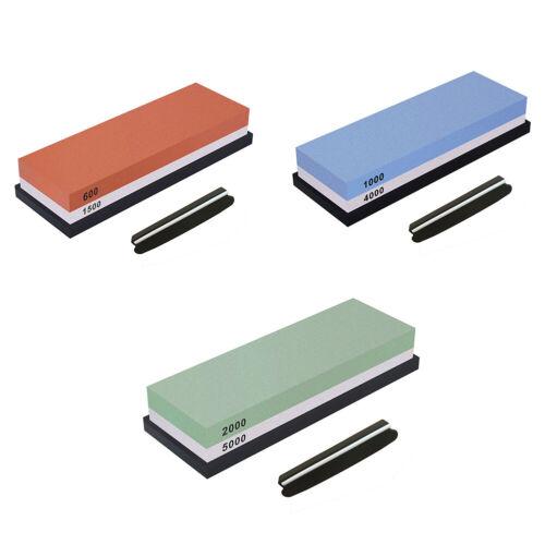 Schleifstein Doppelseitig Messerschärfstein-Set Messerschärferkombination  S5N1
