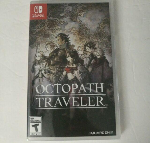 Octopath Traveler (Nintendo Switch, 2018) BRAND NEW Sealed NIB