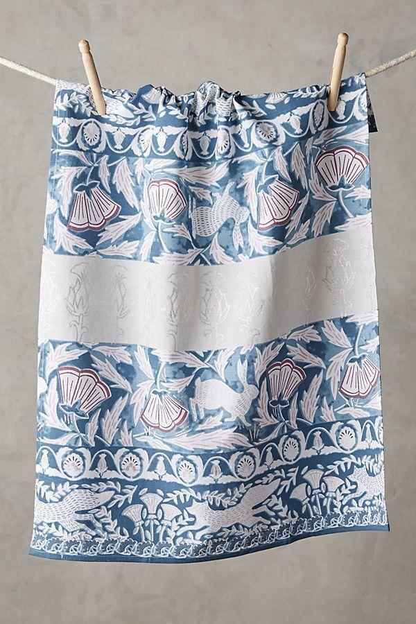 NWT Anthropologie Produce Kitchen Towel