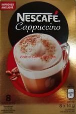NESCAFE CAPPUCCINO Extra Creamy European COFFEE 8 per PK x 5 BOXES = 40 Servings