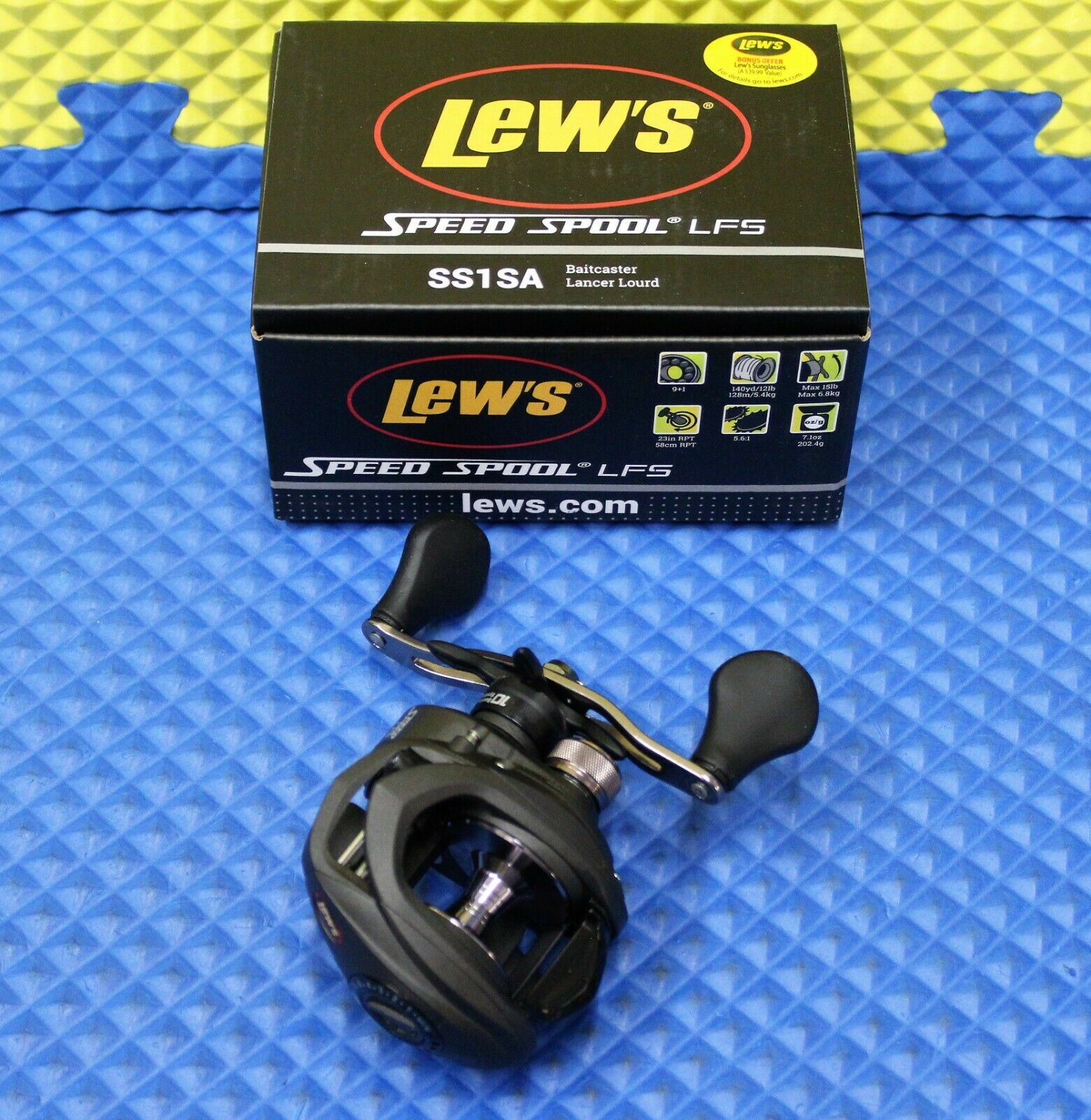 Lew's Speed Spool LFS Series Baitcaster Reel 8BB  1ZRCB NEW FOR 2019 SS1SA