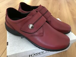 Details about BRAND NEW JOSEF SEIBEL Fabienne 05 ladies shoe with strap red leather UK 639