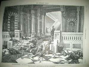 TURQUIE-SULTAN-INSURRECTION-JAPON-MAISON-MAGASIN-BELLE-JARDINIERE-GRAVURES-1878