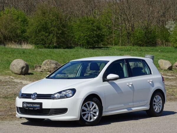 VW Golf VI 1,6 TDi 105 BlueMotion billede 0