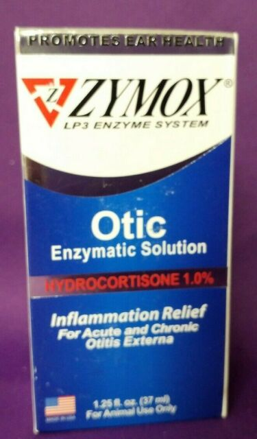 Zymox LP3 Enzyme System, HC 1%, Inflammation & Itch Relief,1.25 fl.oz.exp 5/2020