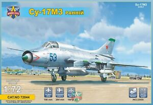 Modelsvit-72044-1-72-Sukhoi-Su-17M3-Early-Differentes-Advanced-Fighter-Neuf