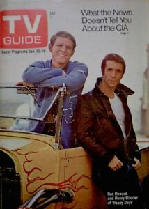 TV-Guide-1976-Happy-Days-Henry-Winkler-Ron-Howard-1189-Bionic-Woman-John-Wayne