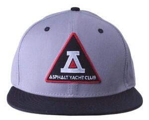 c89b58959fa Asphalt Yacht Club Bermuda Triangle Black Grey 5 Panel Snapback ...