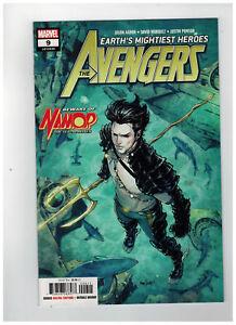 David Marquez Cover Comic Book 2018 Avengers #9