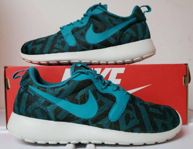 71e18a452fb8f Womens Nike Roshe One KJCRD 705217-301 Metallic Green Brand New Size 8