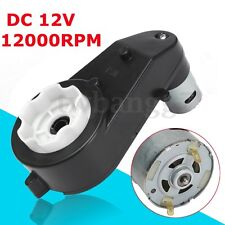 12000 RPM Electric 12V Motor Gear Box For Kids Ride On  Bike Car Toy Spare Parts