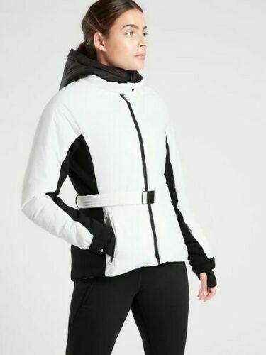 Athleta Grace Peak Parka Belted Jacket Coat #511424 NWT! M Medium
