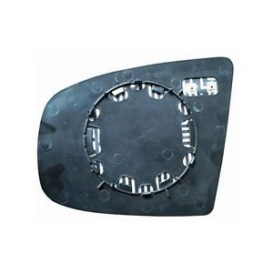 Vetro Piastra Specchio Retrovisore X5 E70 2006-2010 Destro Termico