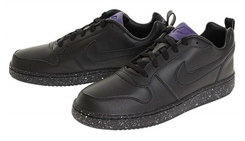 NIKE Uomo Court Borough Low SE, nero nero nero Dimensione 10 c2e9d9