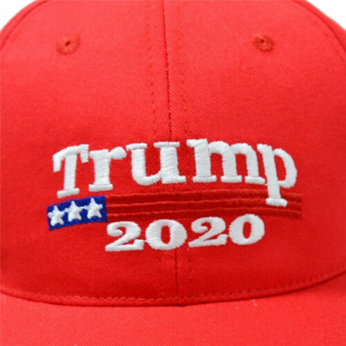 2020 Donald Trump Embroidery Hat Keep America Great USA Flag Car Bumper Stickers