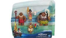 Disney 6 Figure Doll Set Moana Adventure Playset Maui Hei Hei Pua Grandma BNIB