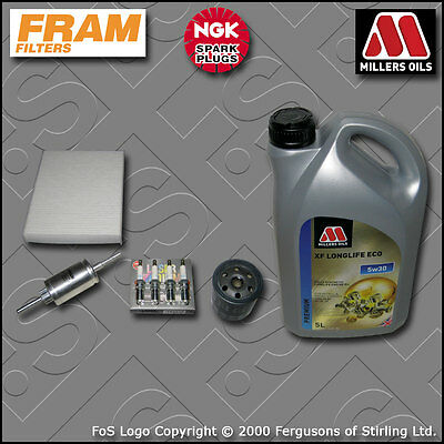 2004-2008 SERVICE KIT for FORD FIESTA MK6 ST150 OIL AIR FUEL CABIN FILTERS