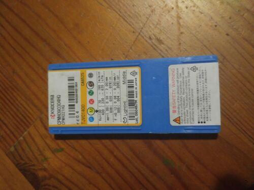 5pcs original Kyocera CPMH090304HQ  321HQ Carbide Turning Insert,Grade  CA6525
