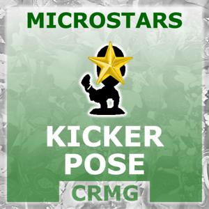 CRMG Corinthian MicroStars KICKERS KICKER POSE SPECIALS (like SoccerStarz)