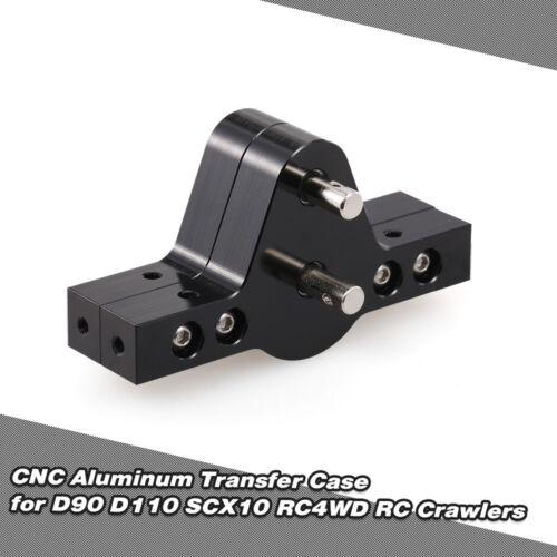 CNC Aluminum Transfer Case For D90 SCX10 RC4WD RC Crawler Trucks O2P1