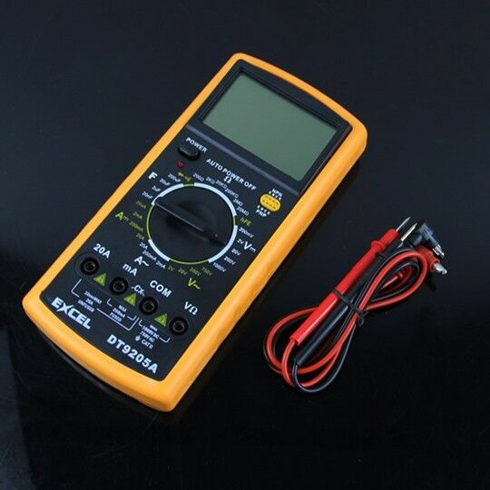 New Digital Voltmeter Ammeter Ohm Test Meter Multimeter H