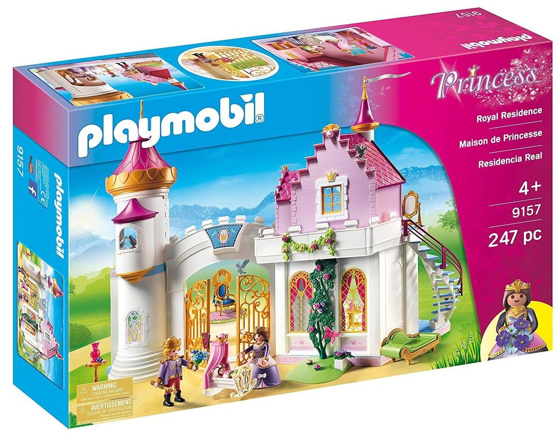 Playmobil Royal Residence Bulilding Set Kids Play  9157 NEW SAME DAY SHIP