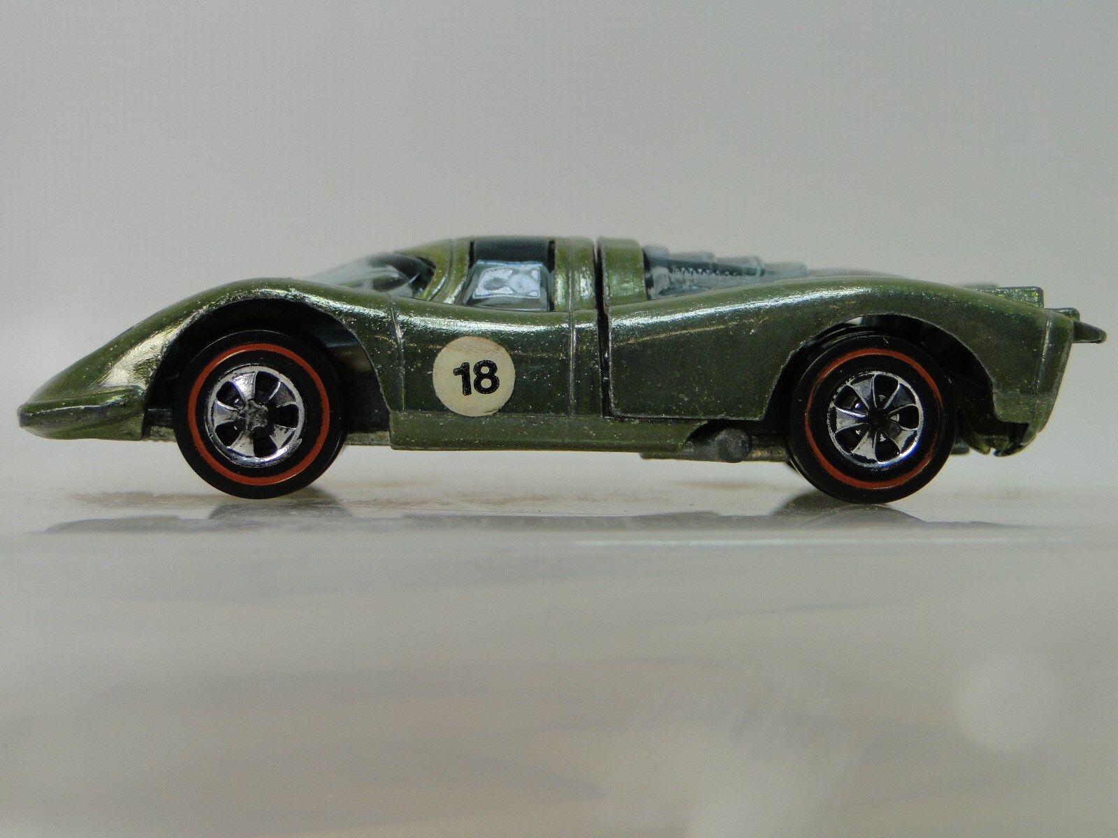 1969 heißen rad rotline porsche 911 gt - 1 f vintage - sport - rennwagen 18. nein.