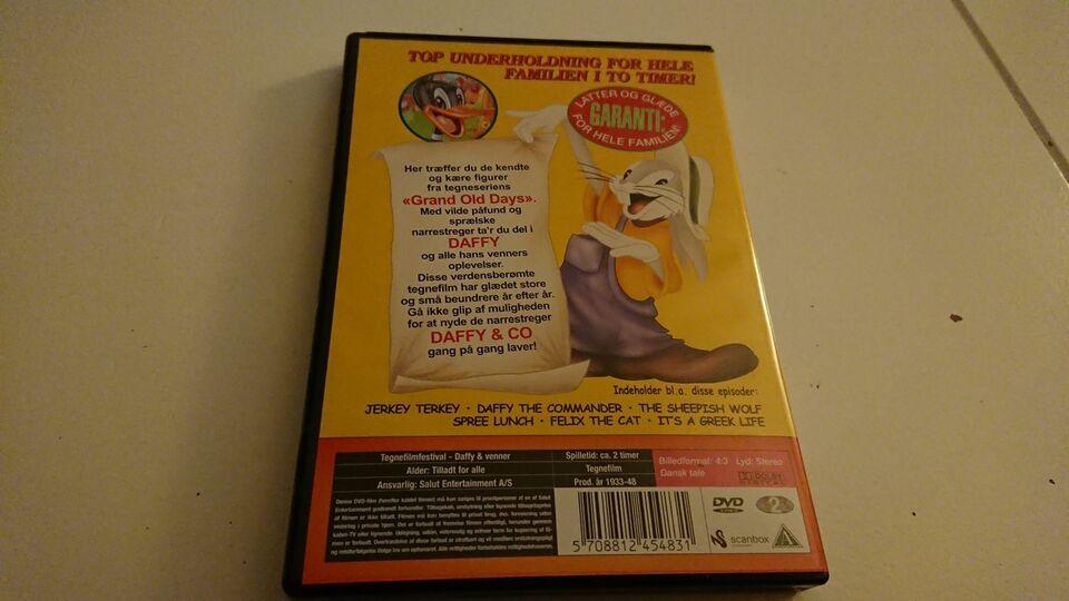 Daffy & venner, DVD, tegnefilm