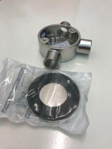 Electrix Acero Inoxidable 316L 20mm Caja de conducto Tee