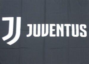 Bandiere Bandiera Ufficiale Juventus Standard 140x100 logo 2018-2019 100% Poliestere Collezioni diverse