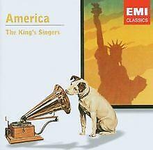 America von the King'S Singers   CD   Zustand sehr gut