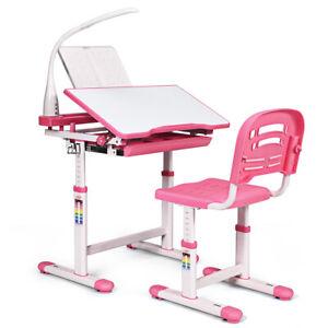 Desks & Desk Sets Home & Kitchen ghdonat.com Pink Children Desk ...