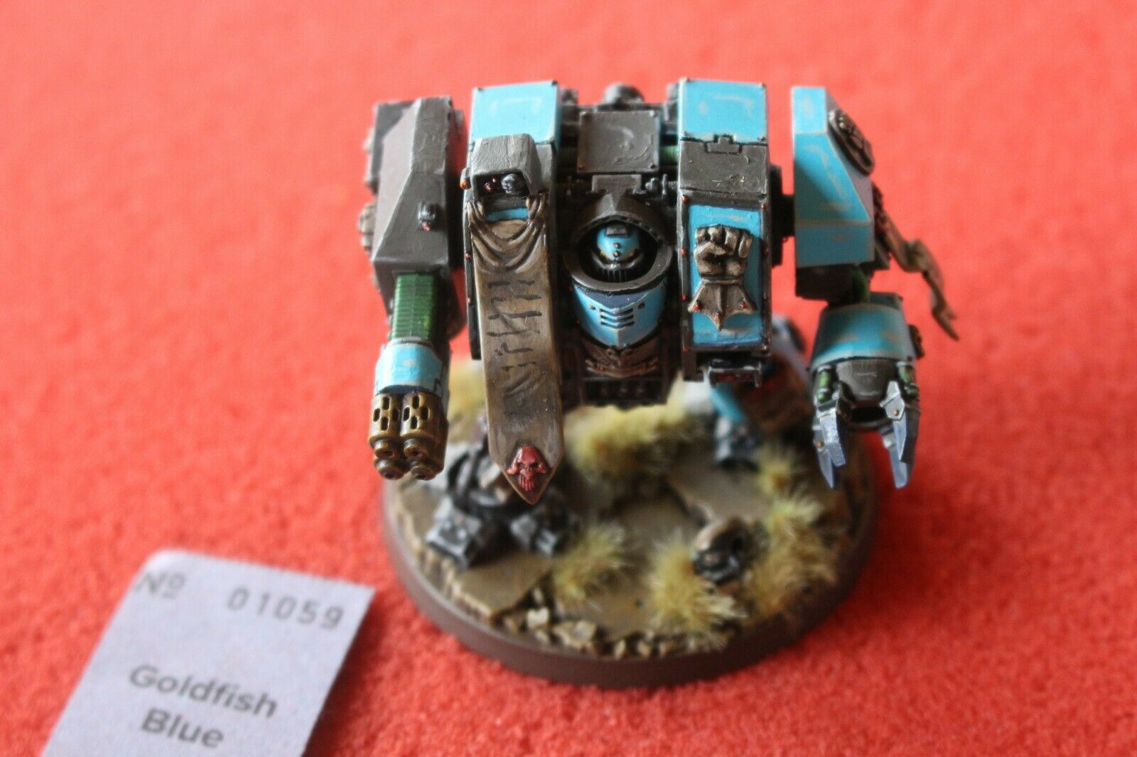 Games Workshop Warhammer 40k Space Marines Pro Pro Pro Painted Dreadnought Forgeworld 624f36