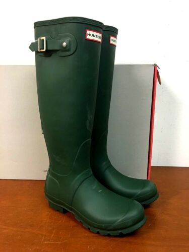 opaco 8 8n da Verde alti Stivali taglia 30b Hunter pioggia originali nx8BxwzqY