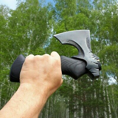 Pocket axe in urban style Black Viking Gift hunter fisherman tourist motorist