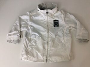 6396b3bf1 Hugo Boss lightweight Jacket White Coat Size 2 Years With Built In ...